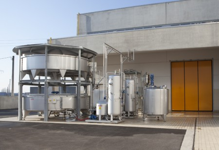 FLCV continuous wine flotation unit