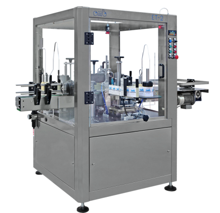 Labelling machine mod. ET 2 champagne + distributor